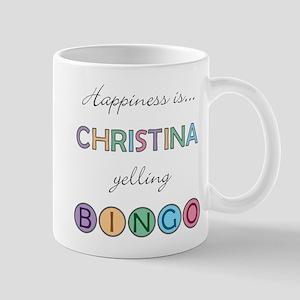 Christina BINGO Mug
