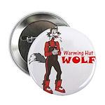 """""""Warming Hut Wolf"""" 2.25"""" Button (100 pack)"""