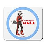 """""""Warming Hut Wolf"""" Mousepad"""