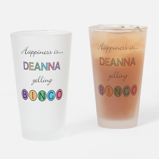 Deanna BINGO Drinking Glass