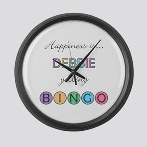 Debbie BINGO Large Wall Clock