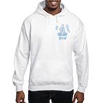 Light Blue WIN Ribbon Hooded Sweatshirt