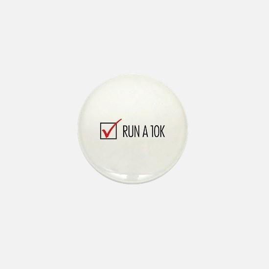 Run a 10k Mini Button
