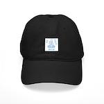 Light Blue WIN Ribbon Black Cap