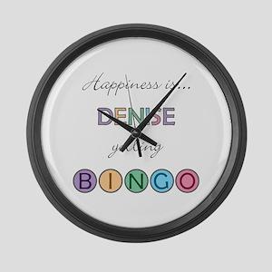 Denise BINGO Large Wall Clock