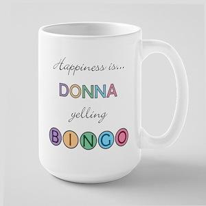 Donna BINGO Large Mug
