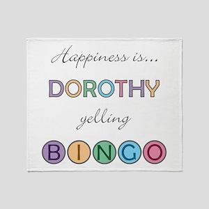 Dorothy BINGO Throw Blanket