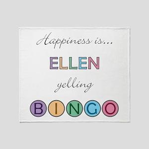 Ellen BINGO Throw Blanket