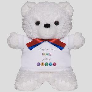 Jamie BINGO Teddy Bear