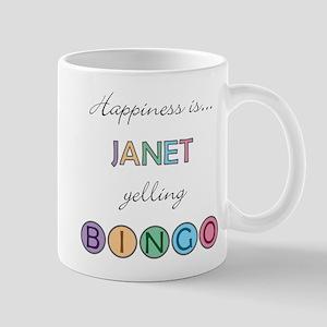 Janet BINGO Mug