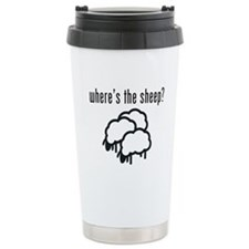 Where's the Sheep? Stainless Steel Travel Mug