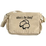 Where's the Sheep? Messenger Bag