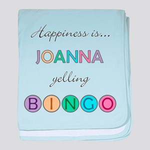 Joanna BINGO baby blanket