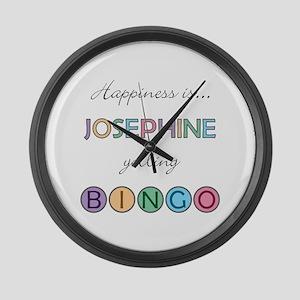Josephine BINGO Large Wall Clock