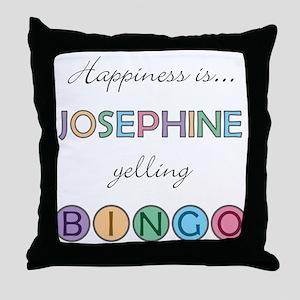 Josephine BINGO Throw Pillow