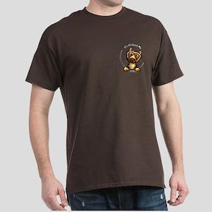 Norwich Terrier IAAM Pocket Dark T-Shirt