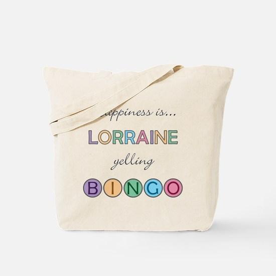 Lorraine BINGO Tote Bag