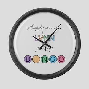 Lynn BINGO Large Wall Clock