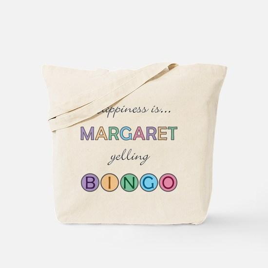 Margaret BINGO Tote Bag