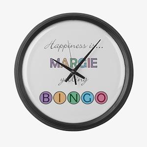 Margie BINGO Large Wall Clock