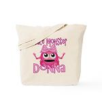 Little Monster Donna Tote Bag