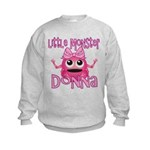 Little Monster Donna Kids Sweatshirt
