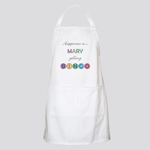 Mary BINGO Apron