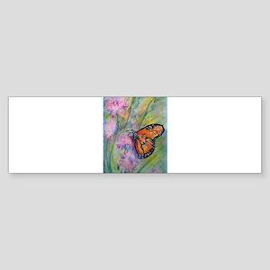 Monarch butterfly, nature, ar Sticker (Bumper)