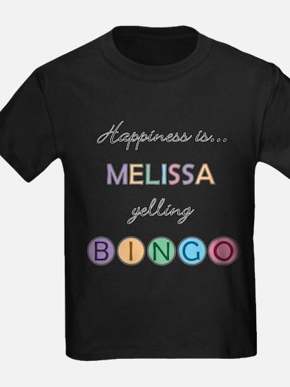 Melissa BINGO T