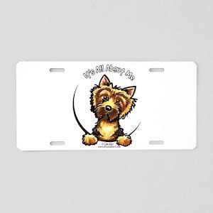 Norwich Terrier IAAM Aluminum License Plate