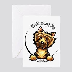 Norwich Terrier IAAM Greeting Card