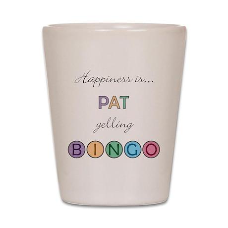 Pat BINGO Shot Glass