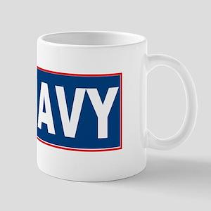 Brown Water Navy Mug