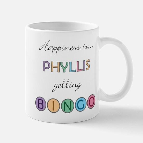 Phyllis BINGO Mug