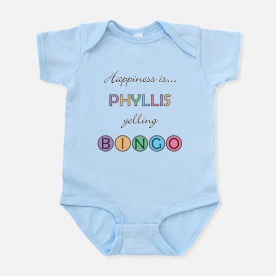 Phyllis BINGO Infant Bodysuit