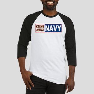 Brown Water Navy Baseball Jersey