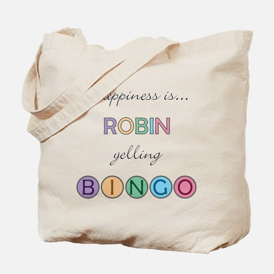 Robin BINGO Tote Bag
