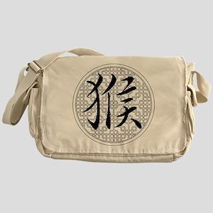 Monkey Chinese Horoscope Messenger Bag