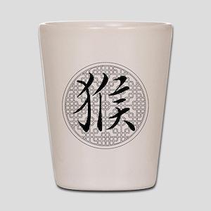 Monkey Chinese Horoscope Shot Glass