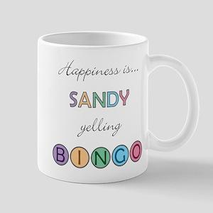 Sandy BINGO Mug
