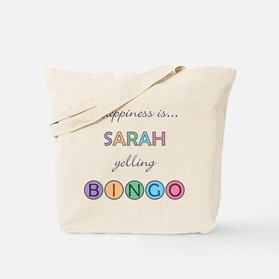Sarah BINGO Tote Bag