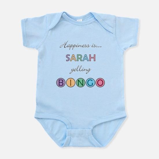 Sarah BINGO Infant Bodysuit