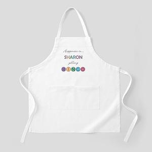 Sharon BINGO Apron