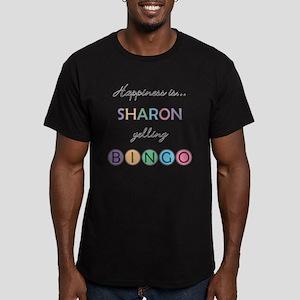 Sharon BINGO Men's Fitted T-Shirt (dark)