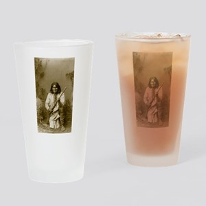 Geronimo (image only) Drinking Glass