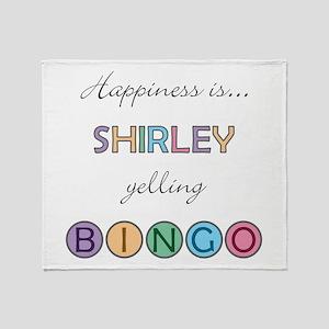 Shirley BINGO Throw Blanket