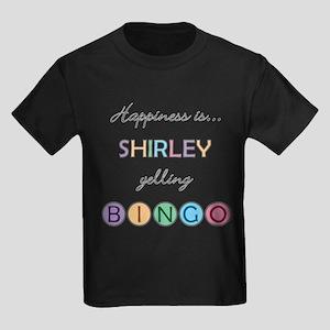 Shirley BINGO Kids Dark T-Shirt