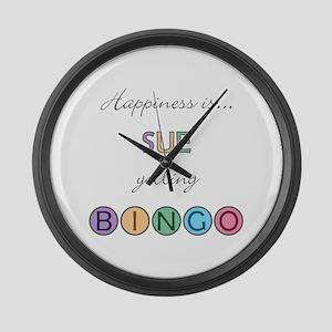 Sue BINGO Large Wall Clock