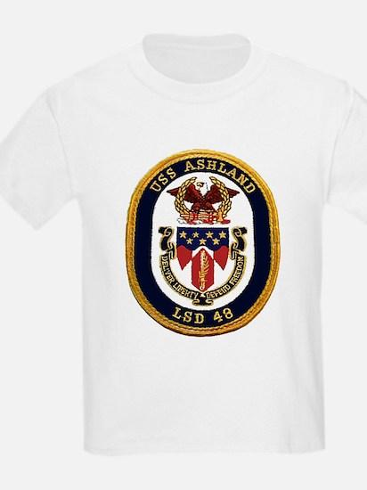 USS Ashland LSD 48 Kids T-Shirt