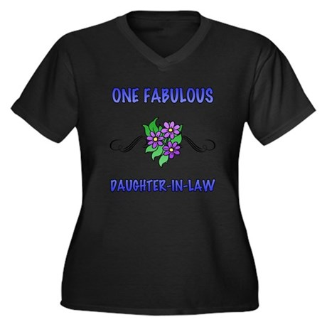 Fabulous Floral Daughter-In-Law Women's Plus Size
